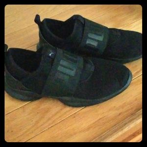 Womens puma dare interest slide on shoe